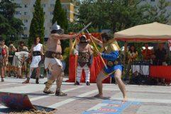 Momente istorice, reconstituite la Porolissum Fest