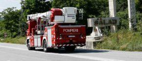 Incendiu în Șimleu provocat de neatenția unui gospodar
