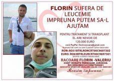 Apel pentru viaţă! Bolnav de leucemie, un tânăr zălăuan are nevoie de ajutorul nostru