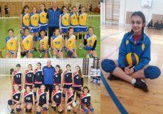 Voleibalista zălăuană Iulia Duma, căpitan de echipă la Centrul Naţional de Excelenţă din Baia Mare