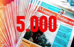 Magazin Sălăjean, la ceas aniversar – ediția cu numărul 5.000
