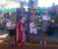 Fraţii Verdeş, pe podium la un turneu de tenis desfăşurat la Bistriţa