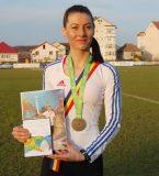 Paula Todoran, bronz la Campionatul Naţional de Atletism
