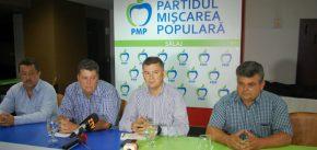 Președinte executiv al PMP, Valeriu Steriu, are încredere în Adrian Popan și în viitorul filialei sălăjene