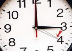 În weekend, dăm ceasul cu o oră înainte