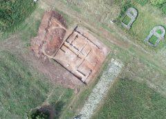 Descoperire istorică: Arheologii au scos la lumină sala tezaurului oraşului roman Porolissum