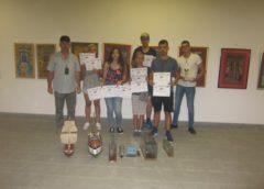 Salbă de premii şi menţiuni pentru elevii de la Palatul Copiilor