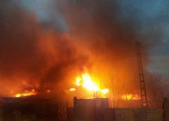 Incendiu în Ortelec. Două case, cuprinse de flăcări