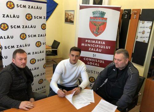 Image result for Strănepotul celebrului medic Iuliu Haţieganu, ultimul transfer la SCM Zalău