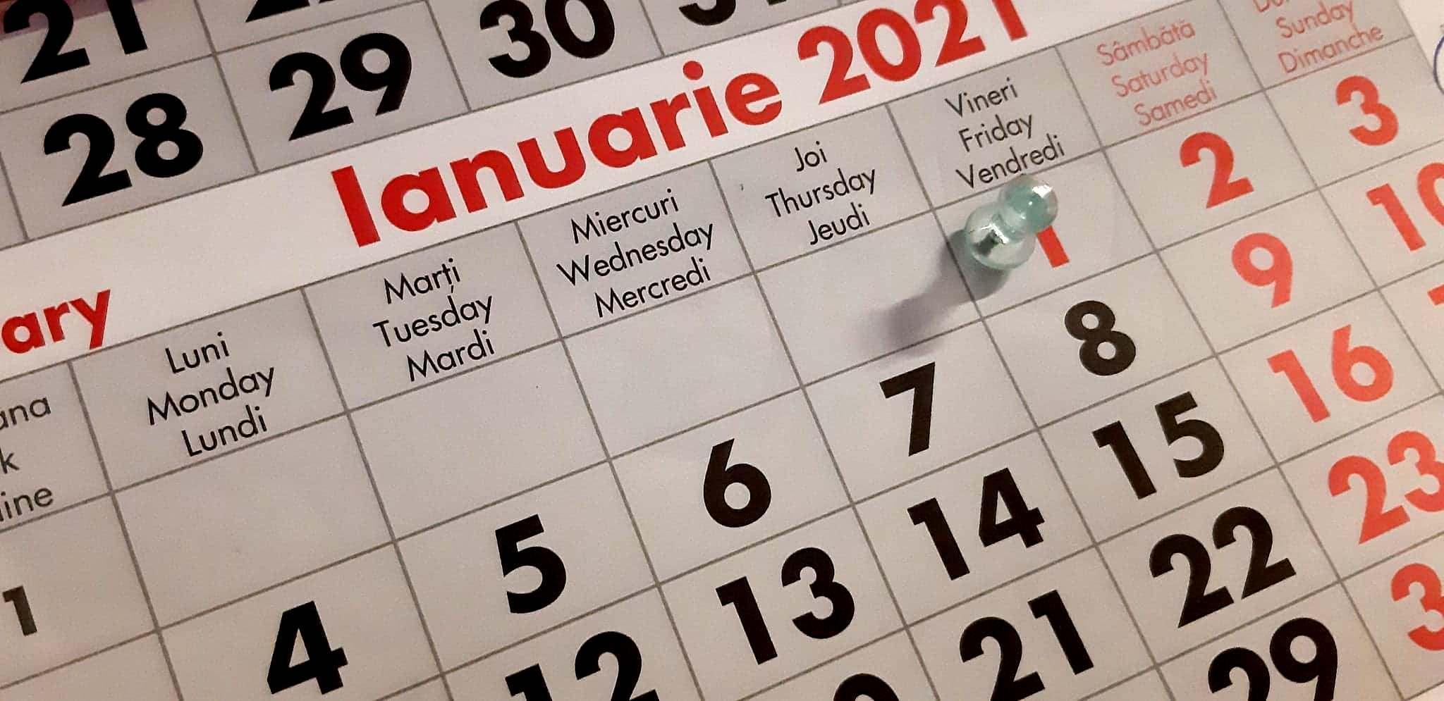 Câte sărbători legale și libere avem vom avea în 2021 ...