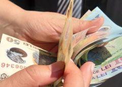 Salariul mediu net pe economie, în scădere